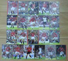 2001-02 Man Utd portrait signé & Unsigned Club cartes-individuellement Prix