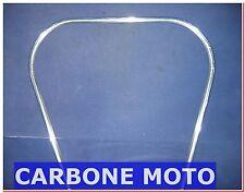 PROFILO BORDO SCUDO VESPA PX 125 - 150 -200 CROMATO IN PLASTICA