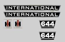 IHC Mc Cormick Traktor Aufkleber international 644 Emblem