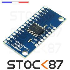 5278# 1 à 5pcs CD74HC4067 16-Channel Analog Digital Multiplexer - multiplexeur
