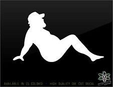 Sexy Naked Man Vinyl Decal Window Sticker I love my Trucker Diesel Girl Truck