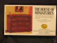 House/ Miniature 3 Drawer Chest dollhouse furniture kit