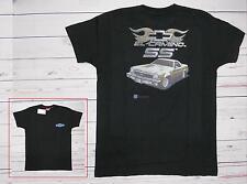 T-shirt CHEVROLET El camino SS con stampa GM nera M-L-XL-XXL