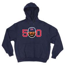 "Big Papi David Ortiz Boston Red Sox ""500"" jersey Hooded Sweatshirt Hoodie"