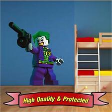 Lego Joker - Batman Wall Art Printed Vinyl Sticker Decal Childrens Bedroom Boys