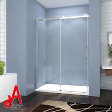 1200 1500x1950 Wall To Wall Frameless Sliding Shower Screen Door Rail  Adjustable