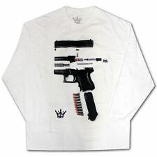 Mafioso Dismantled Long Sleeve T-Shirt White