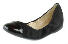 Cole Haan Women's Black Cortland Ballet Flats Shoes Ret $137.99 New