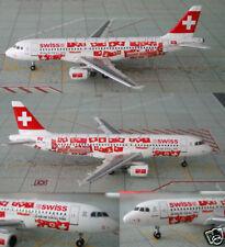"""SWISS A-320 (HB-IJM) """"Hopp Schwiiz"""" Euro 08, 1:400"""