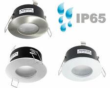 230V rostfreie Vordach & Aussen LED Einbaustrahler AQUA IP65 & LED-Spot 3W 5W 7W