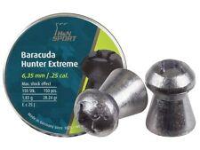 H&N Barracuda Hunter Extreme .25 Cal Air Rifle Pellets Tins or Sample Packs