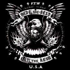 * T-Shirt Biker Eagle Pistons Custom Adler Rocker  Motorcycle FTW Rider  *4145
