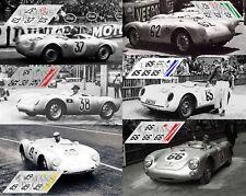 Calcas Porsche 550 RS Le Mans 1955 1:32 1:24 1:43 1:18 1:64 1:87 slot decals