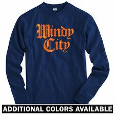 Windy City Gothic Long Sleeve T-shirt - Chicago Bear Cub Bull - LS - Men / Youth