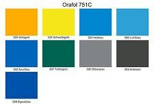 Oracal 751C Plotterfolie 63 cm x 5 M Gegossen Folie Orafol versch. Farben