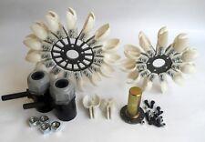Pelton Hydro Turbine Plastic Spoon Water Wheel ( Size 165mm , 200mm , 260 mm )