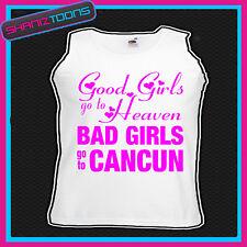 Chicas malas ir a Cancún Gallina Fiesta Vacaciones Chaleco Top