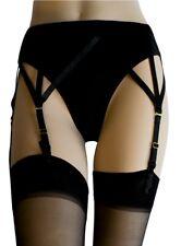 Sheer Lace Top Stocking Set P7709 Fits Sz 8 10 12 14 16 4 Strap Suspender Belt