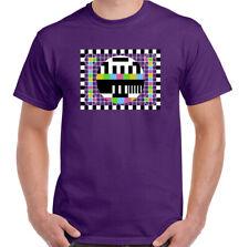 Test Pattern T-Shirt Mens Sheldon Cooper Unisex Top The Big Bang Theory TV