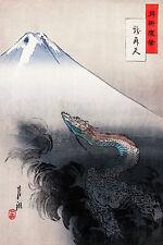 Ogata Gekko - Ryu Sho Ten, Japanese Art, Japan, Museum Poster, Canvas Print
