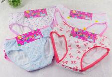 12 Girls Children Cotton Soft Touch Briefs Knickers Kids Underwear,2-13 Years
