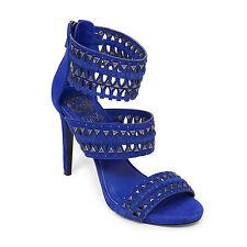 VINCE CAMUTO FANCLE COBALT BLUE SANDALS OPEN TOE WOMEN SHOES