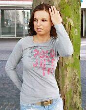 picaldi Maglietta Donna 3703 GRIGIO/rosa grigio/FUCSIA NUOVE SOLO! CONVENIENTE>>