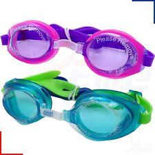 Zoggs Swimming Goggles - Little Ripper Boys /Girls Kids Childrens - UV Pink/Blue