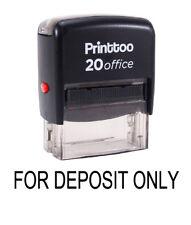 Tampon encreur Office pour dépôt seulement Self Inking Stamp personnalisé