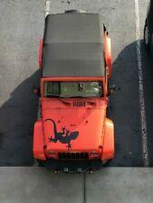 Gecko lizard decal fits jeep hood vinyl graphic sticker truck car Dif sizes