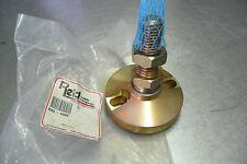 Reid RSL-1002 Lag-Holed Steel Stud Type Leveling Pad Gold Chromate NEW