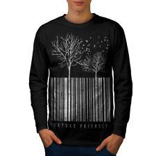 Nature Friendly Code Men Long Sleeve T-shirt NEW | Wellcoda