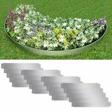 Set de Clôtures de pelouse flexibles en acier galvanisé Bordure de jardin