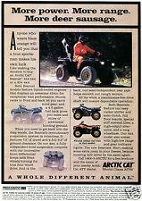 1996 Arctco Artic Cat Bearcat 454 4X4 & 2X4 Quad ATV Four Wheeler Print Ad