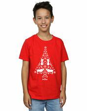 Disney niños Frozen Christmas Tree Camiseta