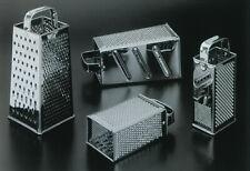 QUATTRO LATI grattugia acciaio inox universale a quattro lati