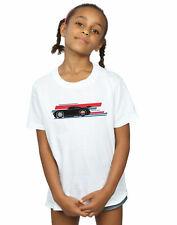 Disney Girls Cars Jackson Storm Stripes T-Shirt