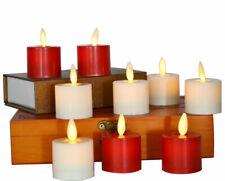 Luminara Battery Candles Tea Lights Flameless For Xmas Home Wedding Party 6 Pcs