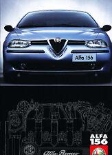 2000 Alfa Romeo 156 Sales Brochure Norway