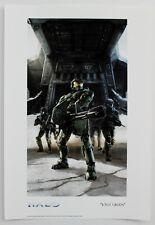 HALO 3 Master Chief Big Gun Artwork Video Game Fine Art Giclée on Paper with COA