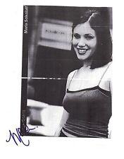 Marla Sokoloff-signed photo