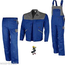 Work Trousers Work Jacket Boiler Suit Workwear Blue/Grey Mg 300