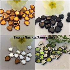 Swarovski #4816/2 corazón Flatback 10mm Craft Paquete De 12 opciones de color