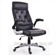 PRAGA Chaise fauteuil de bureau siége pour ordinateur ergonomique direction pc