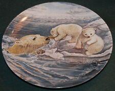 Knowles/Yin-Rei Hicks Lt Ed Plate: POLAR BEARS