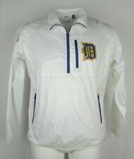 Detroit Tigers MLB GIII Men's 1/4 Zip Large Pullover Rain Jacket MLB