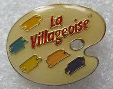 Pin's la Villageoise Palette de peinture #D3
