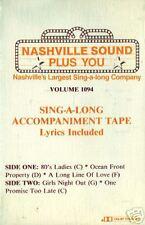 NASHVILLE sing-along accompaniment country Girls Night