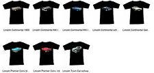 tee-Shirt avec Lincoln Automotive - Fruit Of The Loom S M L XL 2XL 3XL