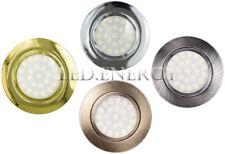 LAMPADINE FARETTO LED LAMPADINA 3W 4W 220V 12V IP44 PORTAFARETTO INCASSO MOBILI